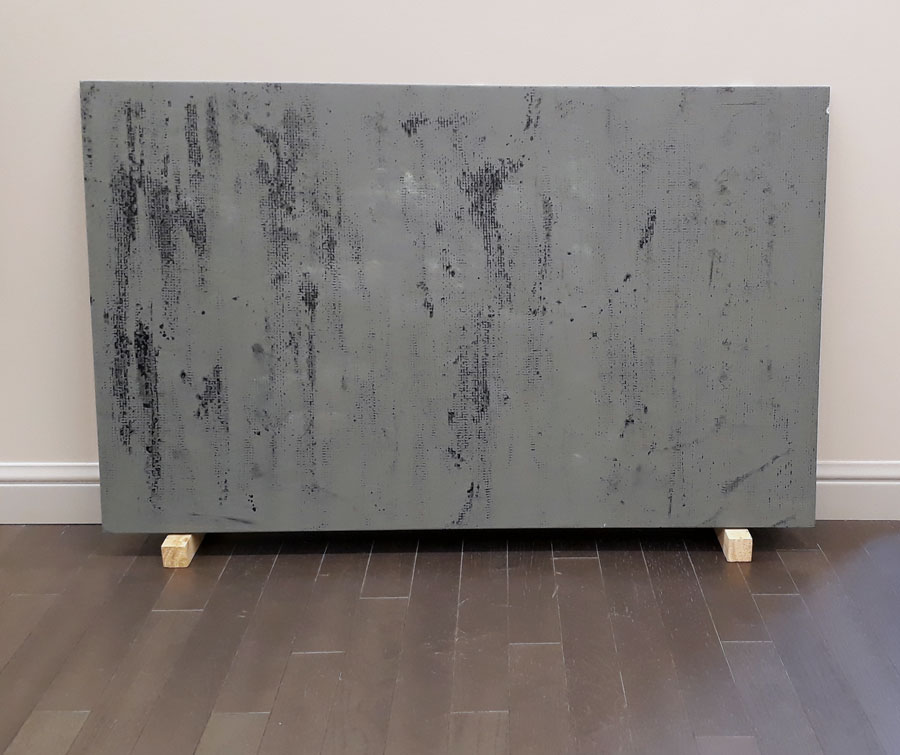 Sinan Logie Fluid Structures Phase 16, oil on canvas, 85x139 cm each, 2018 ,